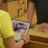 Aufnahme mit iPad