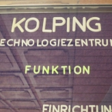 Schild Kolping Technologiezentrum