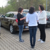 Interview Parkplatz