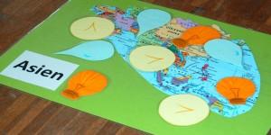 Weltspiel zum Thema Globaler Handel