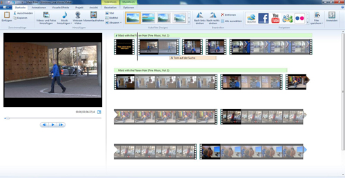 Screenshot Live-Movie-Maker